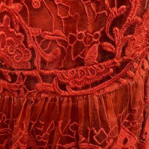 Yoana Baraschi Dresses - Yoana Baraschi Arabesque Embroidered Silk Dress